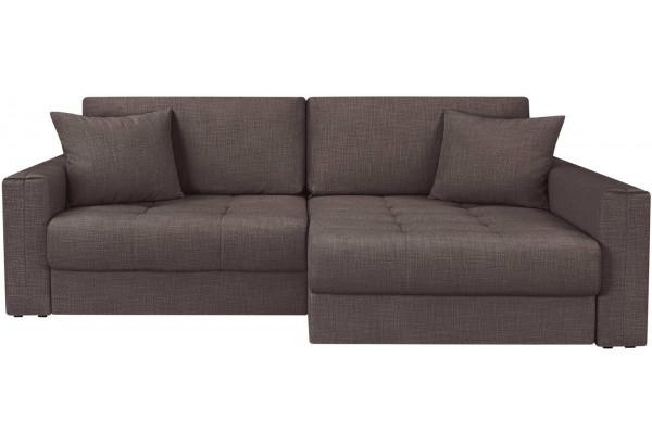 Модульный диван Брайтон вариант №2 графитовый (Рогожка) - фото 4
