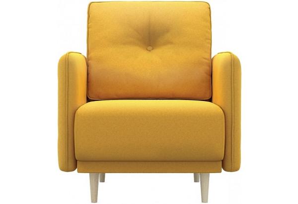 Кресло тканевое Голливуд горчичный (Рогожка) - фото 2