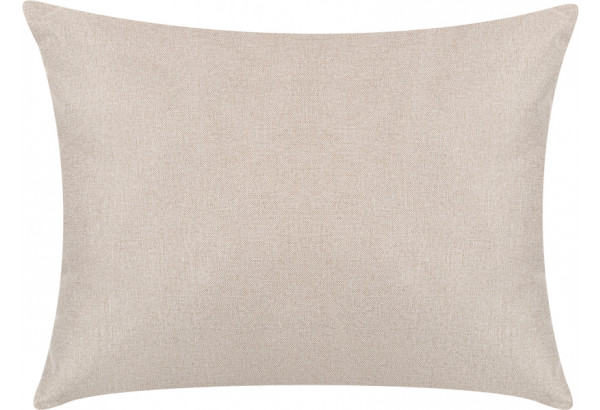 Декоративная подушка Медисон 60х45 см бежевый (Рогожка) - фото 1