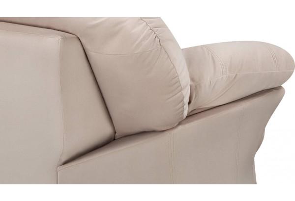Кресло тканевое Ланкастер бежевый (Велюр) - фото 6