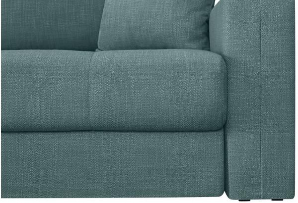 Модульный диван Брайтон вариант №2 голубой (Рогожка) - фото 8