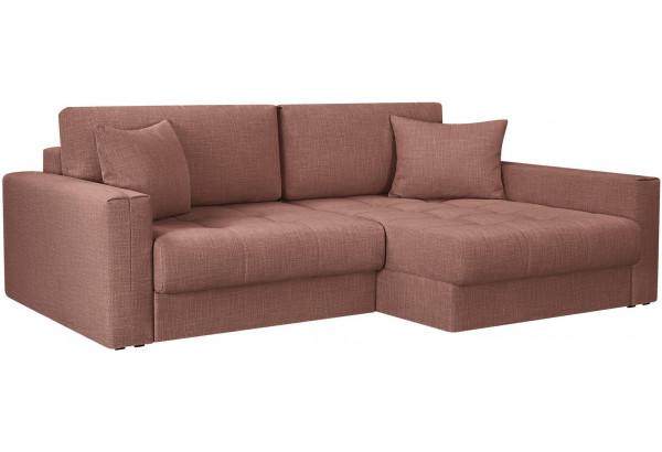 Модульный диван Брайтон вариант №2 розовый (Рогожка) - фото 1