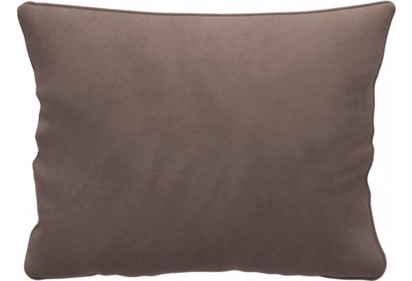 Декоративная подушка Портленд 60х48 см темно-бежевый (Велюр) - фото 1