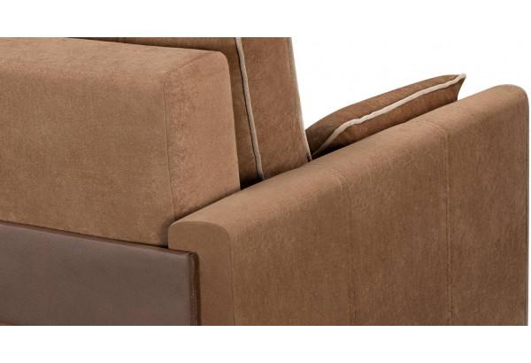 Диван тканевый прямой Римини коричневый (Вельвет) - фото 7