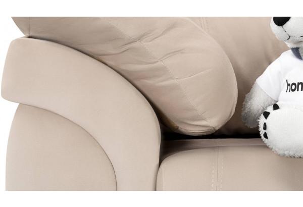 Кресло тканевое Бристоль бежевый (Велюр) - фото 7