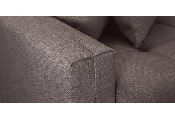 Модульный диван Брайтон вариант №3 графитовый (Рогожка) - фото 8