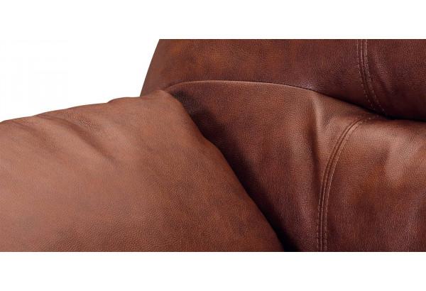 Кресло кожаное Бристоль Коричневый (Кожаное изделие) - фото 4