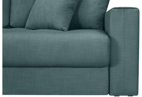 Модульный диван Брайтон вариант №3 голубой (Рогожка) - фото 9