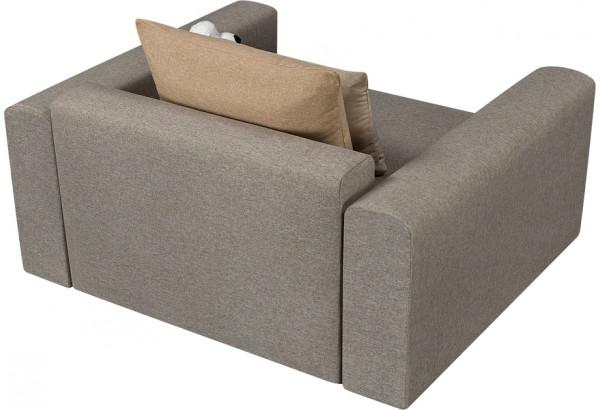 Кресло тканевое Медисон Вариант №1 100 см серый (Рогожка) - фото 5
