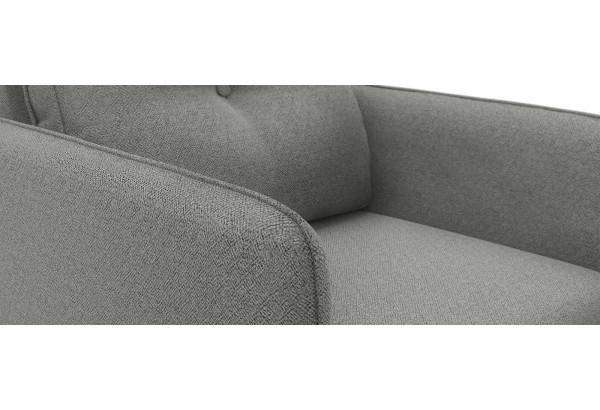 Кресло тканевое Голливуд серый (Рогожка) - фото 5