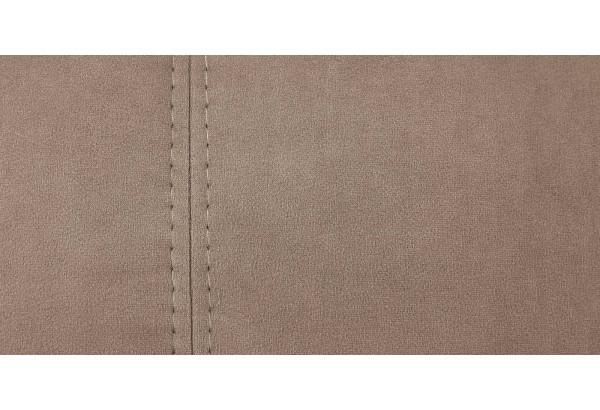 Диван тканевый прямой Ланкастер коричневый (Велюр) - фото 10