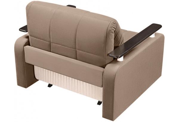 Кресло тканевое Денвер коричневый (Велюр) - фото 5