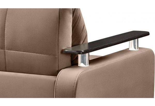 Кресло тканевое Денвер коричневый (Велюр) - фото 9