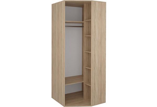Шкаф распашной угловой Лакки (дуб сонома/белый) - фото 2