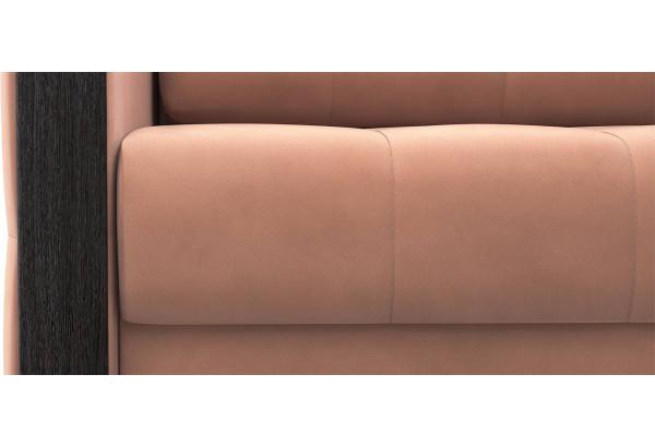 Диван тканевый прямой Валенсия-1 розовый (Велюр) - фото 6