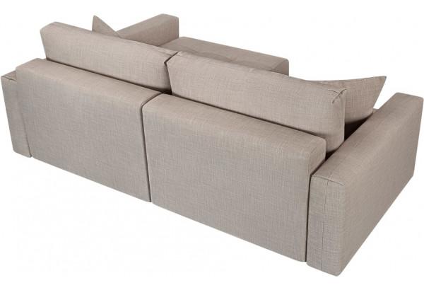 Модульный диван Брайтон вариант №2 бежевый (Рогожка) - фото 5