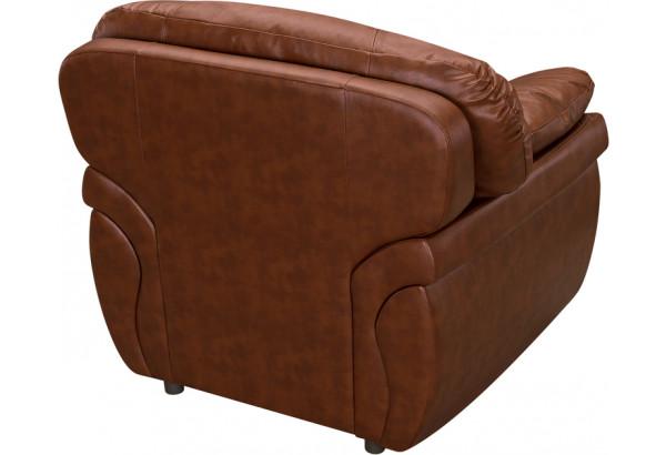 Кресло кожаное Бристоль Коричневый (Кожаное изделие) - фото 3