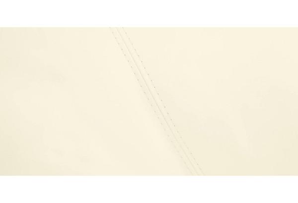 Диван тканевый угловой Ланкастер молочный (Экокожа, правый) - фото 10