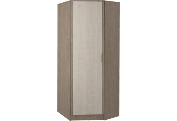 Шкаф распашной угловой Санди (крослайн карамель/латте) - фото 1