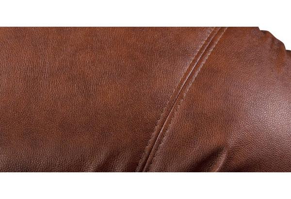 Кресло кожаное Ланкастер Коричневый (Кожаное изделие) - фото 8
