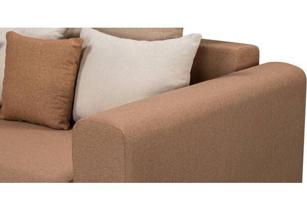 Диван тканевый угловой Медисон Вариант №3 коричневый (Рогожка) - фото 7