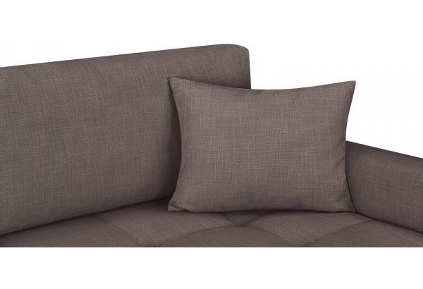 Модульный диван Брайтон вариант №2 графитовый (Рогожка) - фото 8