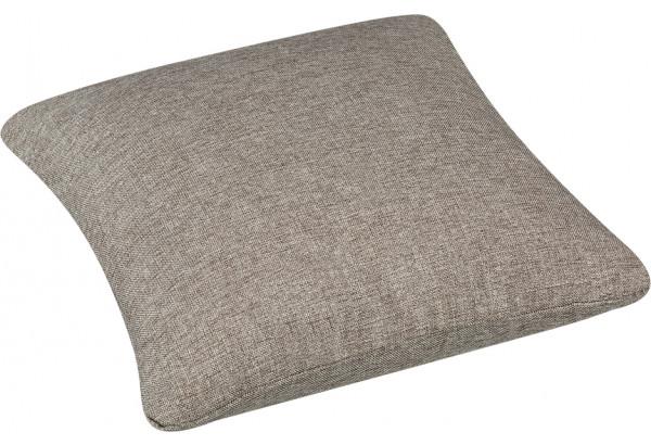 Декоративная подушка Медисон 40х40 см серый (Рогожка) - фото 2