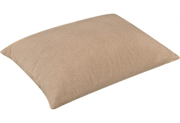 Декоративная подушка Медисон 75х55 см темно-бежевый (Рогожка) - фото 2
