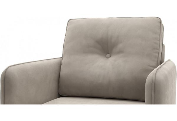 Кресло тканевое Голливуд серый (Велюр) - фото 5