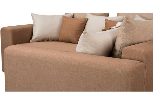 Диван тканевый угловой Медисон Вариант №3 коричневый (Рогожка) - фото 9