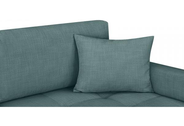 Модульный диван Брайтон вариант №2 голубой (Рогожка) - фото 7