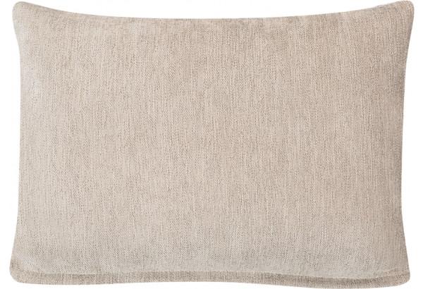 Декоративная подушка Медисон 60х45 см бежевый (Шенилл) - фото 1