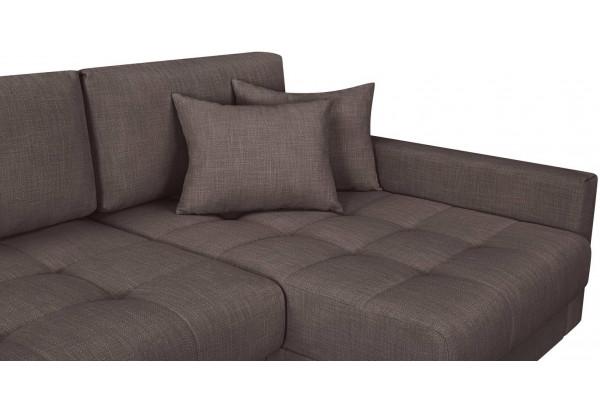 Модульный диван Брайтон вариант №3 графитовый (Рогожка) - фото 7