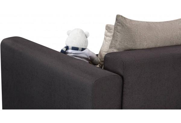 Кресло тканевое Медисон Вариант №1 100 см тёмно-серый (Рогожка) - фото 10