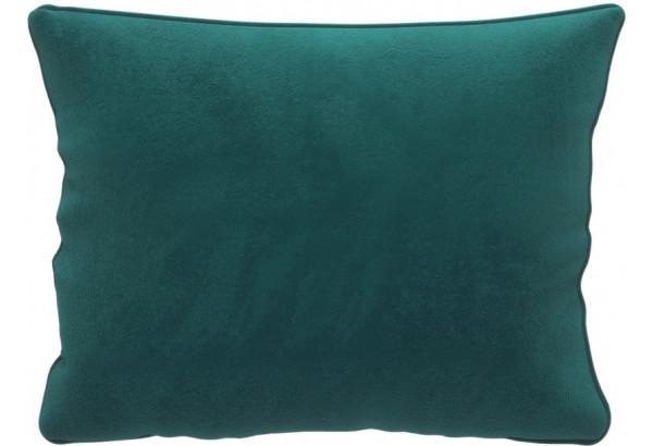 Декоративная подушка Портленд 60х48 см вариант №1 изумрудный (Микровелюр) - фото 1