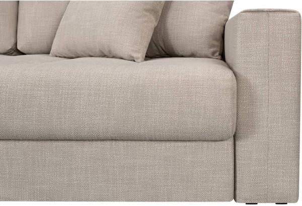 Модульный диван Брайтон вариант №3 бежевый (Рогожка) - фото 8