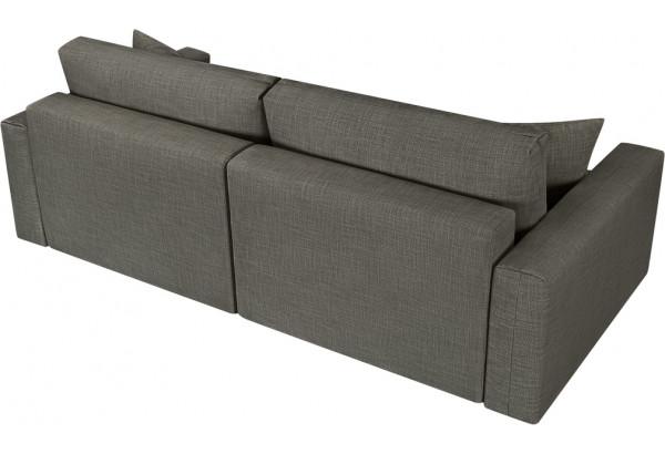 Модульный диван Брайтон вариант №1 серый (Рогожка) - фото 5