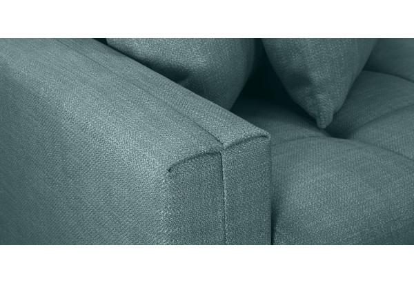 Модульный диван Брайтон вариант №3 голубой (Рогожка) - фото 8
