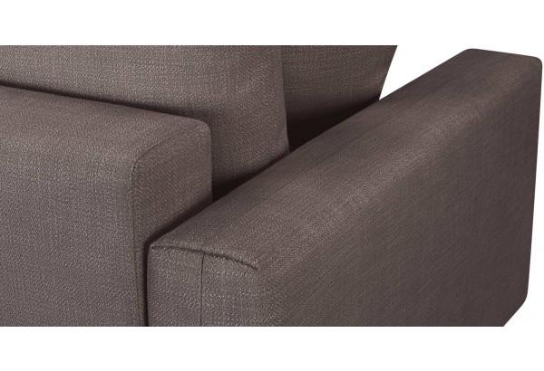 Модульный диван Брайтон вариант №2 графитовый (Рогожка) - фото 9