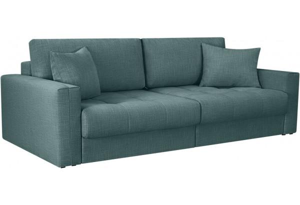 Модульный диван Брайтон вариант №1 голубой (Рогожка) - фото 1
