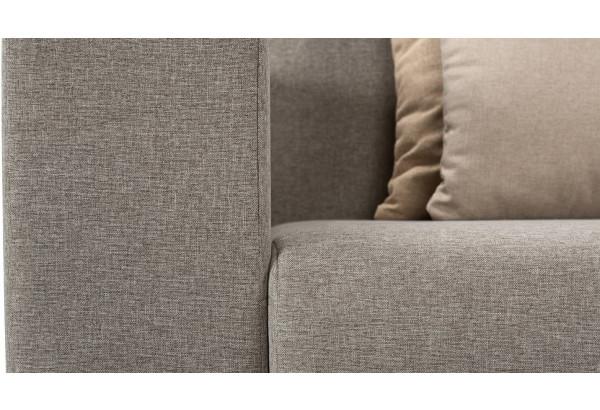 Кресло тканевое Медисон Вариант №1 100 см серый (Рогожка) - фото 10