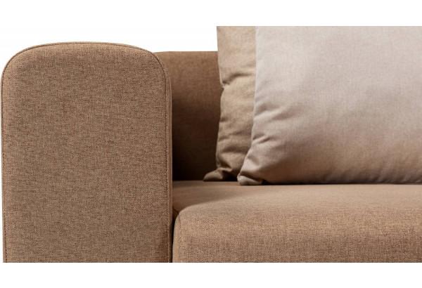 Кресло тканевое Медисон Вариант №1 100 см коричневый (Рогожка) - фото 7