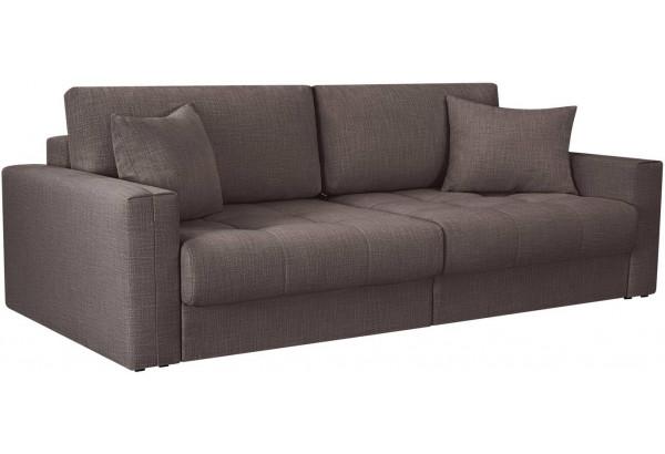 Модульный диван Брайтон вариант №1 графитовый (Рогожка) - фото 1