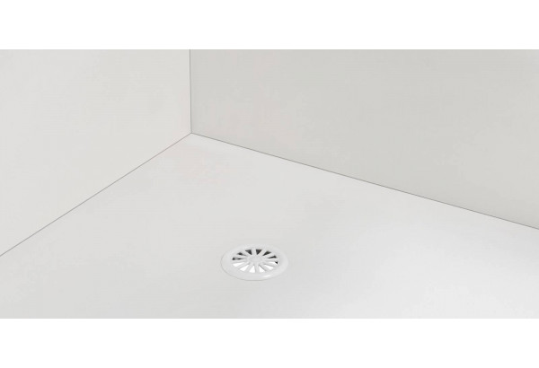 Диван тканевый прямой Портленд вариант №2 розово-серый (Велюр, левый) - фото 6