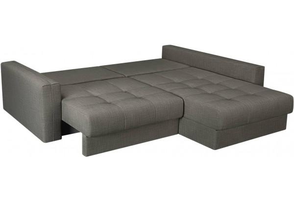 Модульный диван Брайтон вариант №2 серый (Рогожка) - фото 6