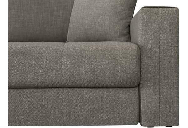 Модульный диван Брайтон вариант №2 серый (Рогожка) - фото 7