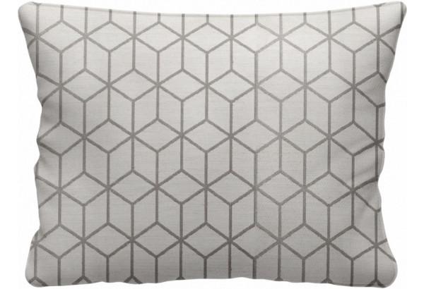 Декоративная подушка Портленд 60х48 см вариант №2 бежевый (Жаккард) - фото 1
