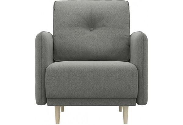 Кресло тканевое Голливуд серый (Рогожка) - фото 2