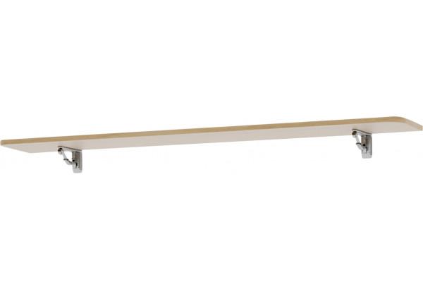 Полка Тиффани 126 см(дубнебраска) - фото 1