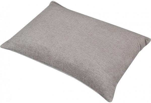 Декоративная подушка Медисон 75х55 см темно-бежевый (Шенилл) - фото 2